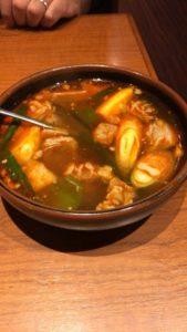 安楽亭 カルビスープ