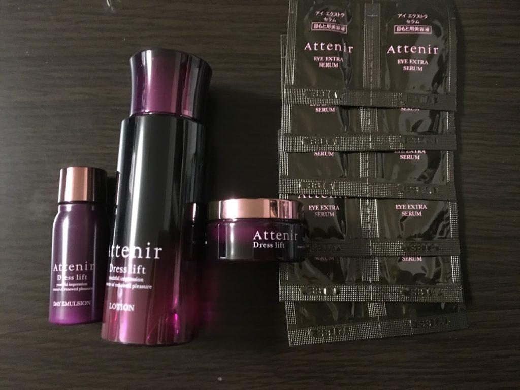 アテニアハリ肌化粧水セットの内容