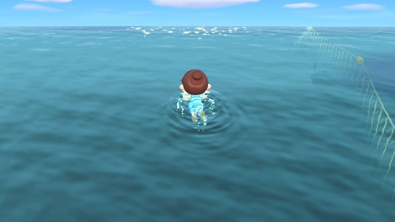 海に潜れる