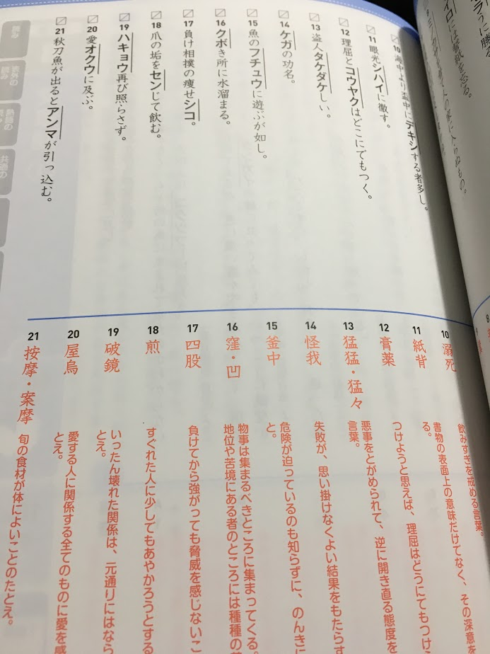 分野別漢検でる順問題集準1級:1300円(税別)