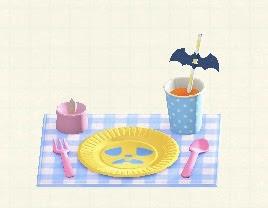 ハロウィンテーブルセッティング