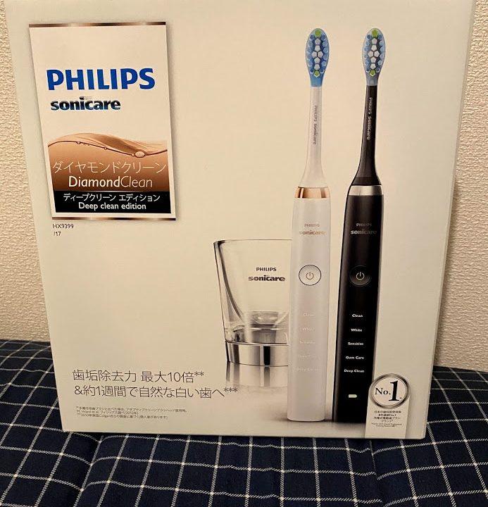フィリップス電動歯ブラシには何が同封されてるの?
