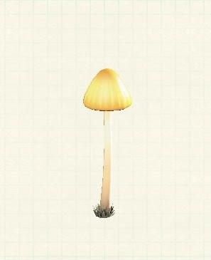 キノコのランプ