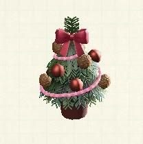 テーブルクリスマスツリー