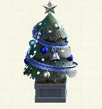 かわいいクリスマスツリー